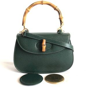 Gucci Vintages Small Bamboo top Handle Bag
